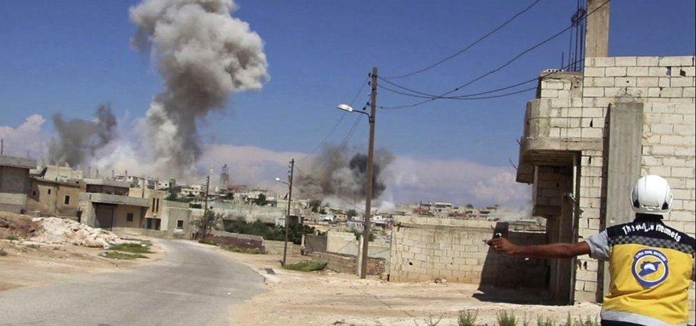 Boje v Sýrii, ilustrační foto
