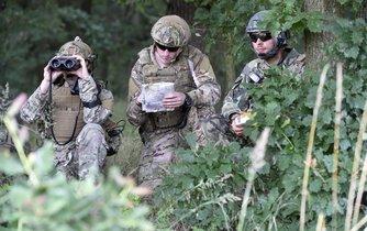 Čeští vojáci - ilustrační fotografie