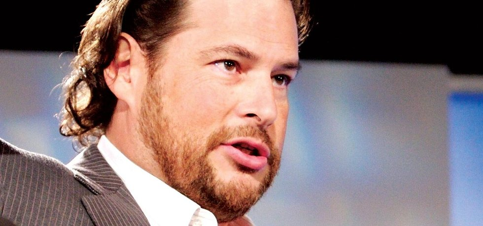 Marc Benioff, šéf Salesforce.com