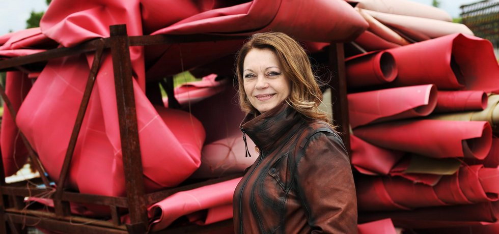 Majitelka firmy Recyplast Ivana Schmidtová.