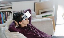 Virtuální realita - ilustrační foto