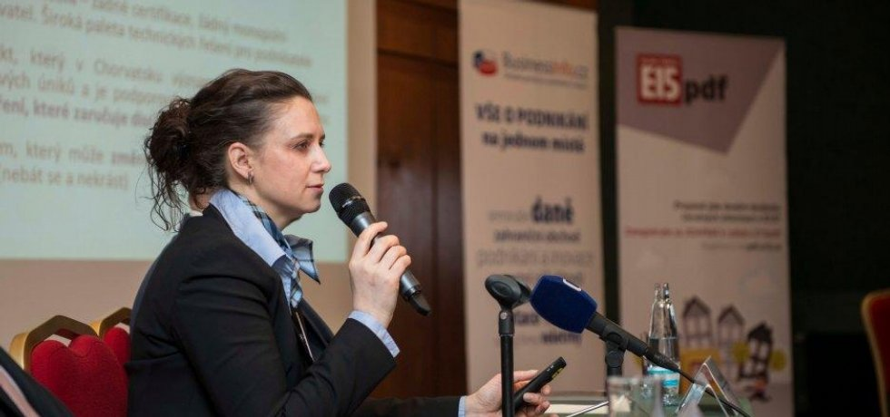 náměstkyně ministra financí Simona Hornochová