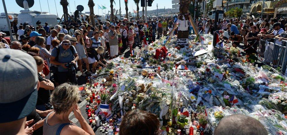 Nice den po útoku kamionového vraha. (Zdroj ČTK)