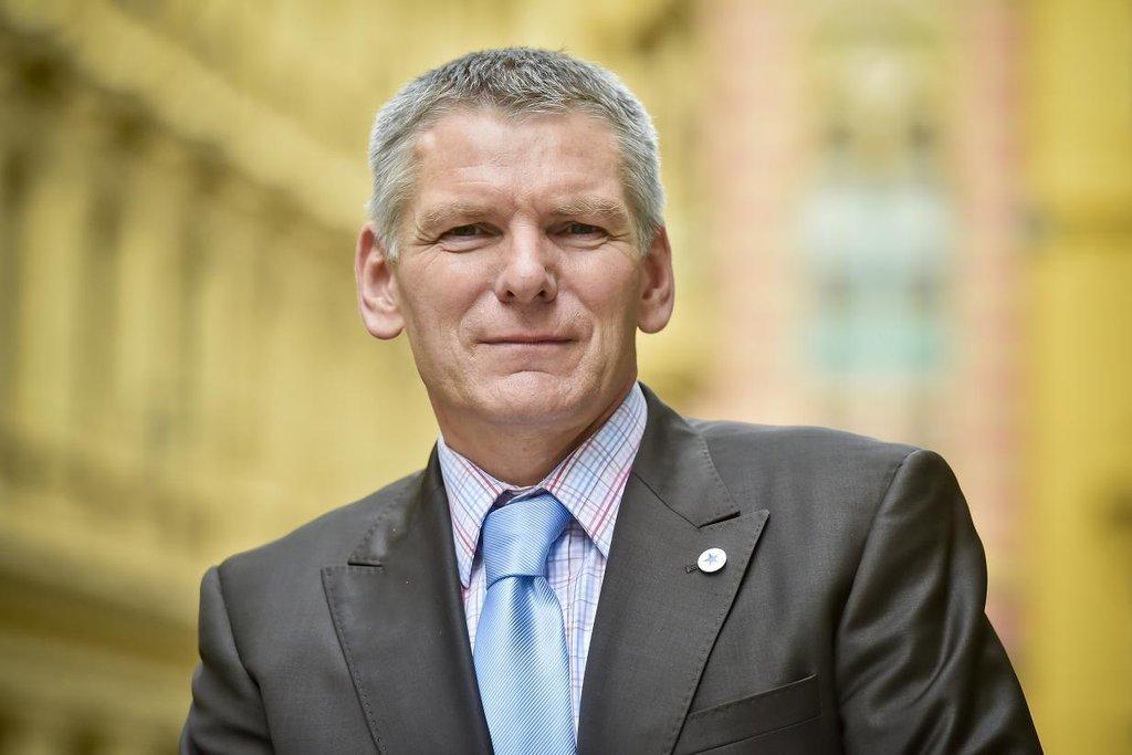 Kandidát Realistů na prezidenta Jiří Hynek