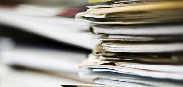 dokumenty, papíry