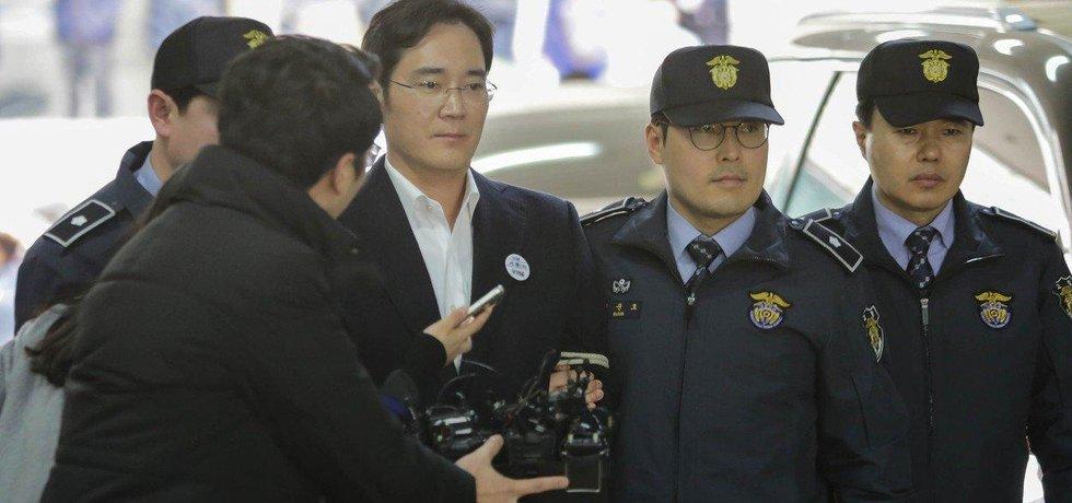 Zadržený dědic Samsungu I Če-jong
