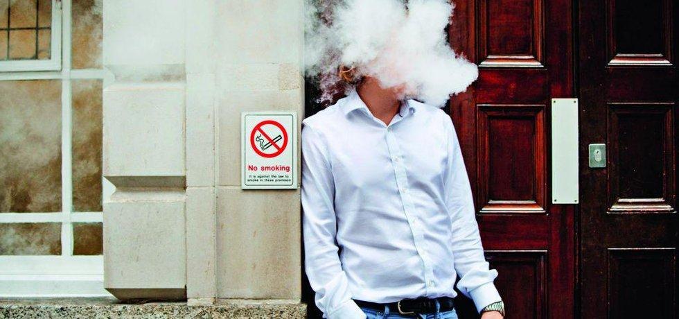 Kuřák, ilustrační foto