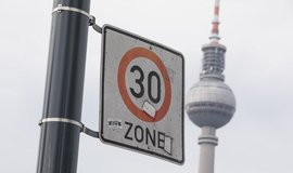 Omezení rychlosti v Berlíně, ilustrační foto