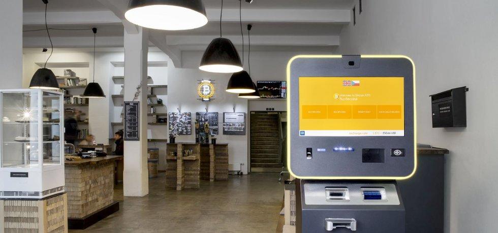 Bankomat české firmy General Bytes