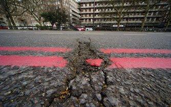 Silnice v Londýně - ilustrační foto