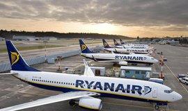 Letadla nízkonákladové letecké společnosti Ryanair