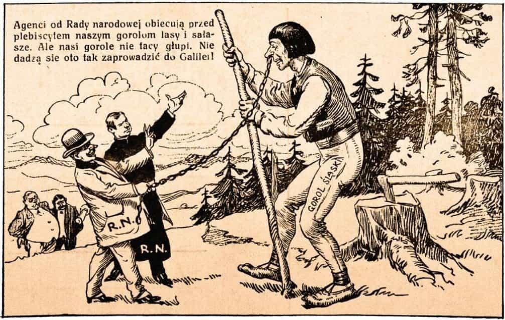 """Česká propaganda, která tvrdí, že naši """"goralé"""" nejsou hloupí, aby se kvůli slíbeným lesům a salaším nechali zavléci do polské Galileje"""