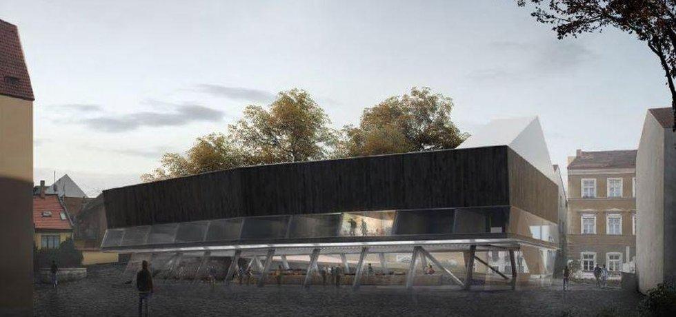 Návrh boskovické multifunkční budovy