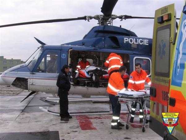 vrtulník, helikoptéra, záchranka, pohotovost, záchranná služba