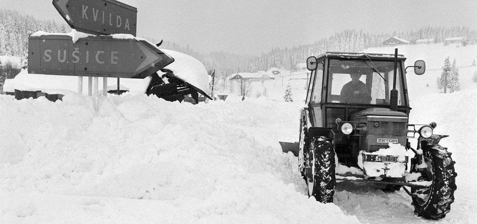 Během silvestrovské noci v roce 1978 klesly během pár hodin teploty o desítky stupňů