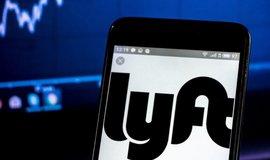Logo firmy Lyft, ilustrační foto