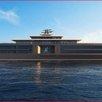 Superjachta Nature z dílny nizozemské firmy Sinot Exclusive Yacht Design
