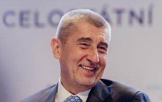 Andrej Babiš, šéf hnutí ANO