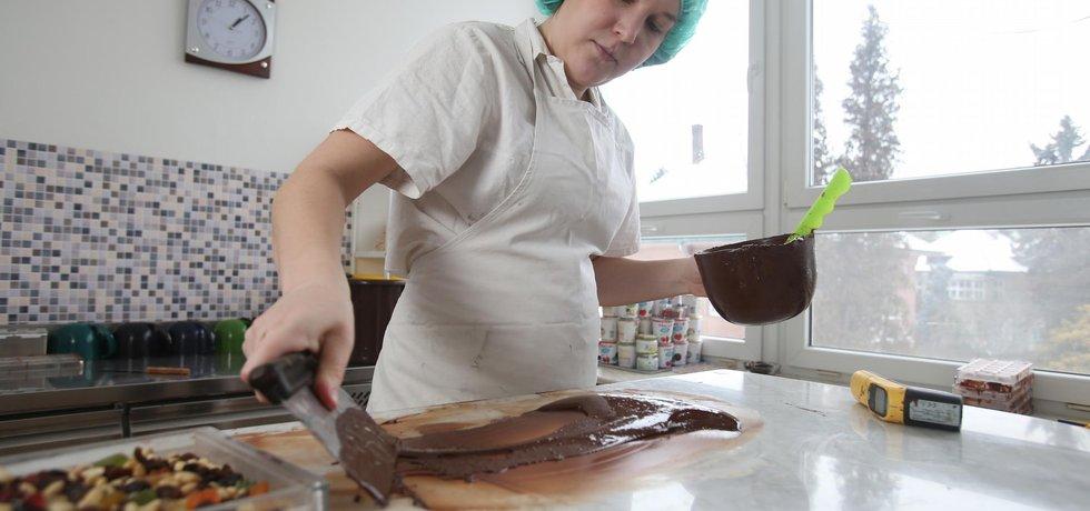 Živnost, Čokoládovna Přerov, ILUSTRAČNÍ SNÍMEK