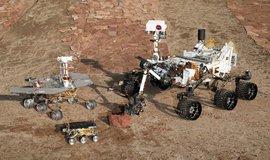 Tři generace průzkumných vozítek na Marsu