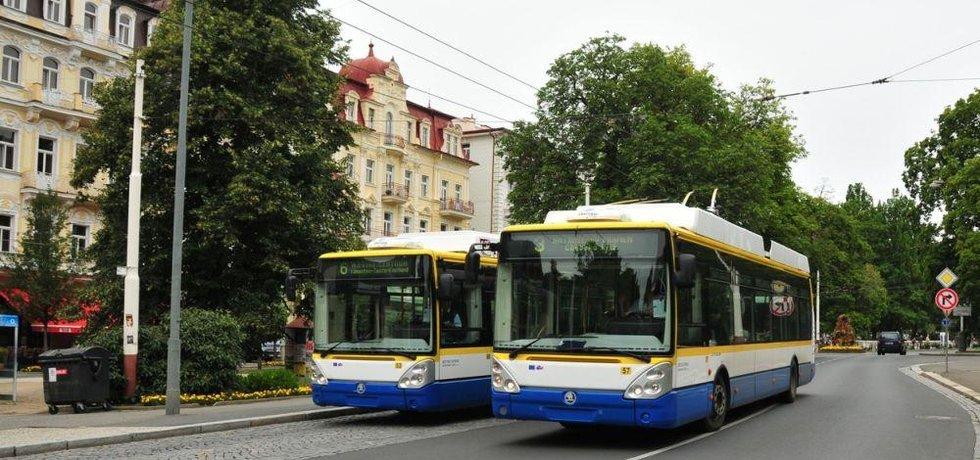 Trolejbus škoda, ilustační foto