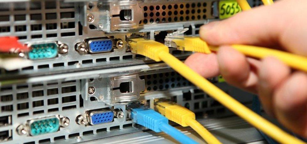 Z datového centra Host-telecom.com v Českých Budějovicích