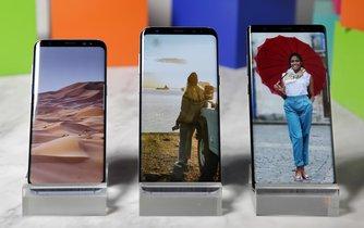 Samsung Galaxy Note 8 nahrazuje model s problematickou baterií