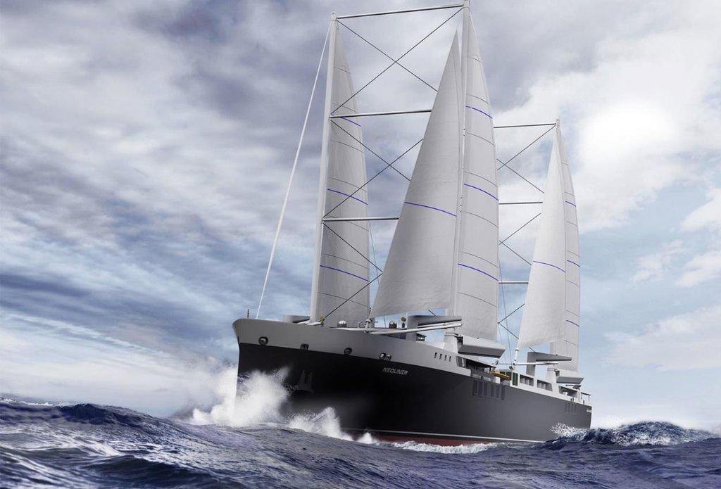 Vizualizace plachetnice firmy Neoline.