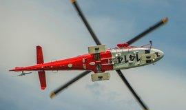 Helikoptéra švýcarské záchranné služby