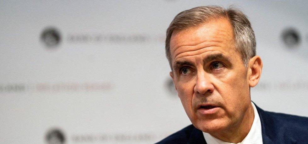 Guvernér Bank of England Mark Carney