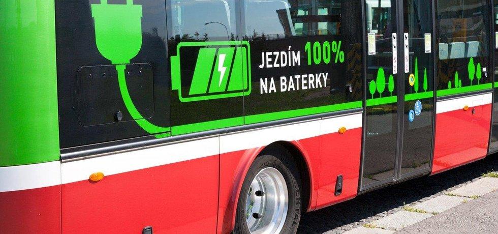 Elektroautobus v Praze, ilustrační foto