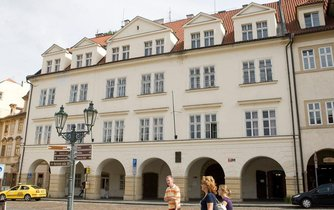 Dům, kde měla sídlit Knihovna Václava Havla