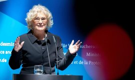 Německá ministryně spravedlnosti Christine Lambrechtová (SPD).