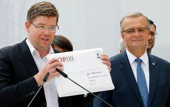 Jiří Pospíšil a Miroslav Kalousek