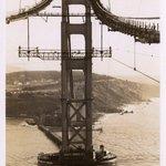 Architektem mostu byl Irving Morrow, staviteli Joseph Strauss a hlavní inženýr Charles Ellis, který po svém propuštění pokračoval ve své práci bez nároku na mzdu.