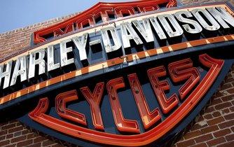 Logo legendárního výrobce motocyklů společnosti Harley Davidson