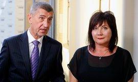 Andrej Babiš a Alena Schillerová