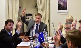 Komise a její předseda Martin Plíšek