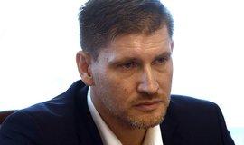 Předseda představenstva Českých drah Václav Nebeský