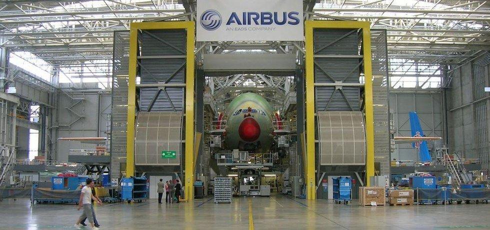 Továrna Airbus, ilustrační foto