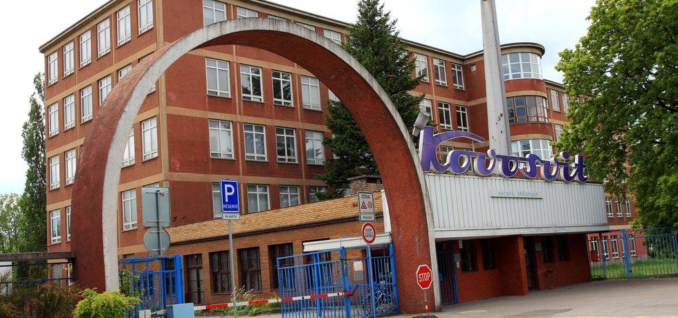 Hlavní brána Kovosvit MAS