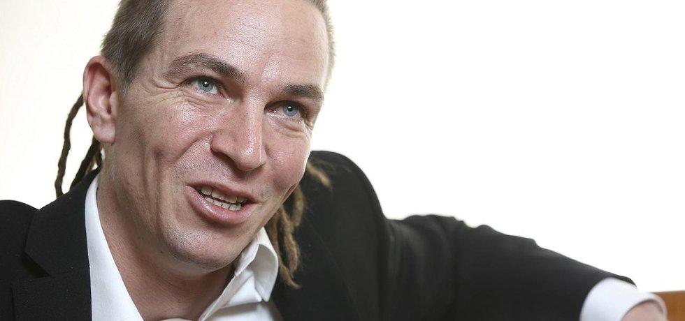 Předseda České pirátské strany Ivan Bartoš