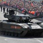 Ruský tank T-14 Armata, ve větším množství má být dodáván ruské armádě od roku 2020.
