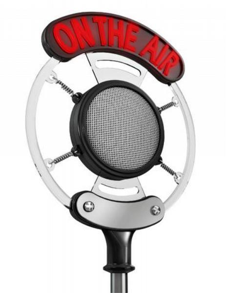 mikrofon, rádio, přepis