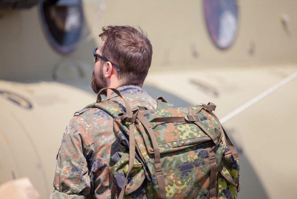 Voják německé armády - ilustrační foto