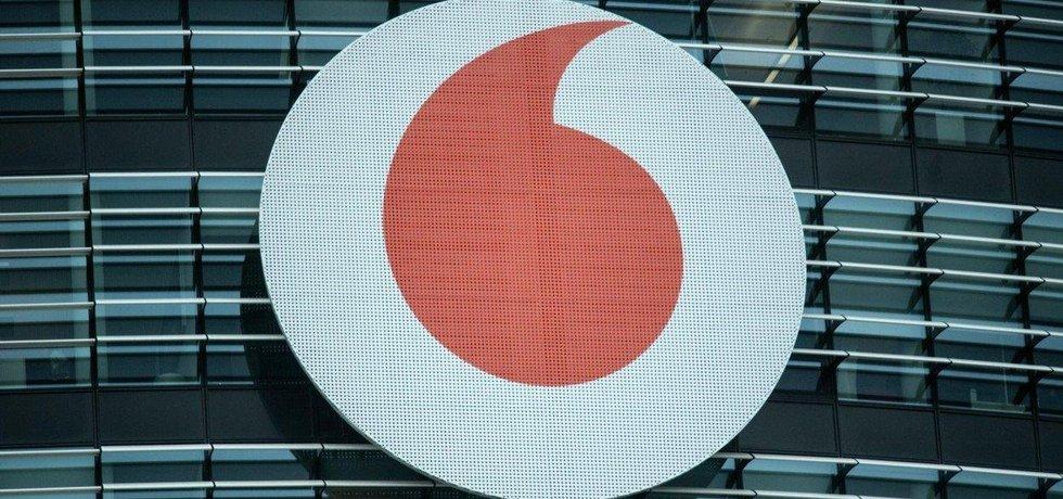 Logo společnosti Vodafone