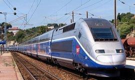 Vlak TGV francouzského státního dopravce SNCF