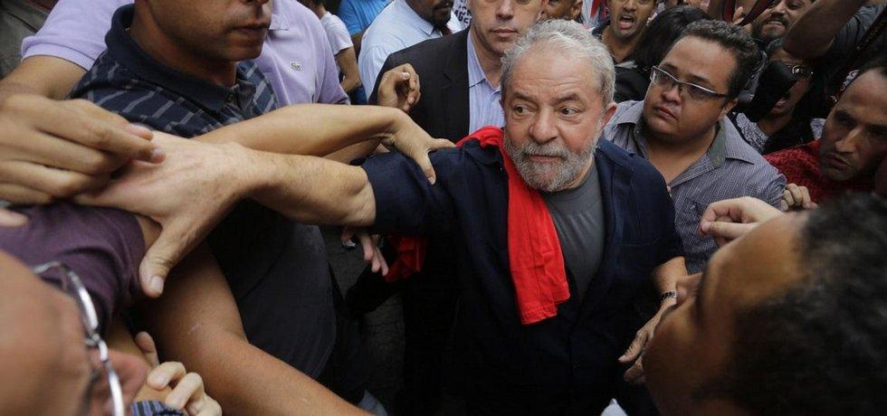 Brazilský exprezident Lula da Silva