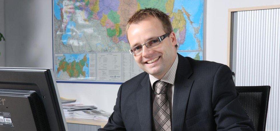 Jan Petr z firmy Touax