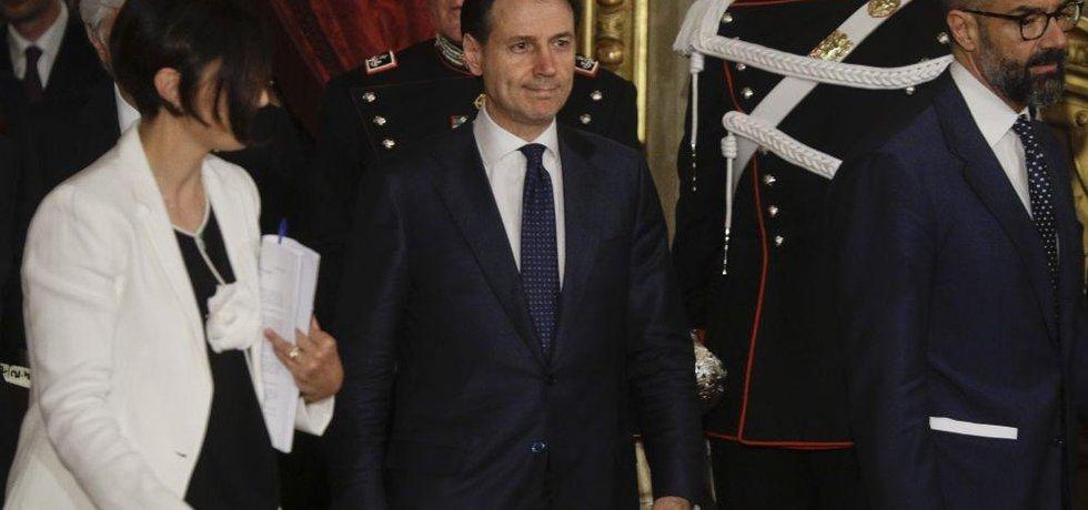 Nový premiér Giuseppe Conte